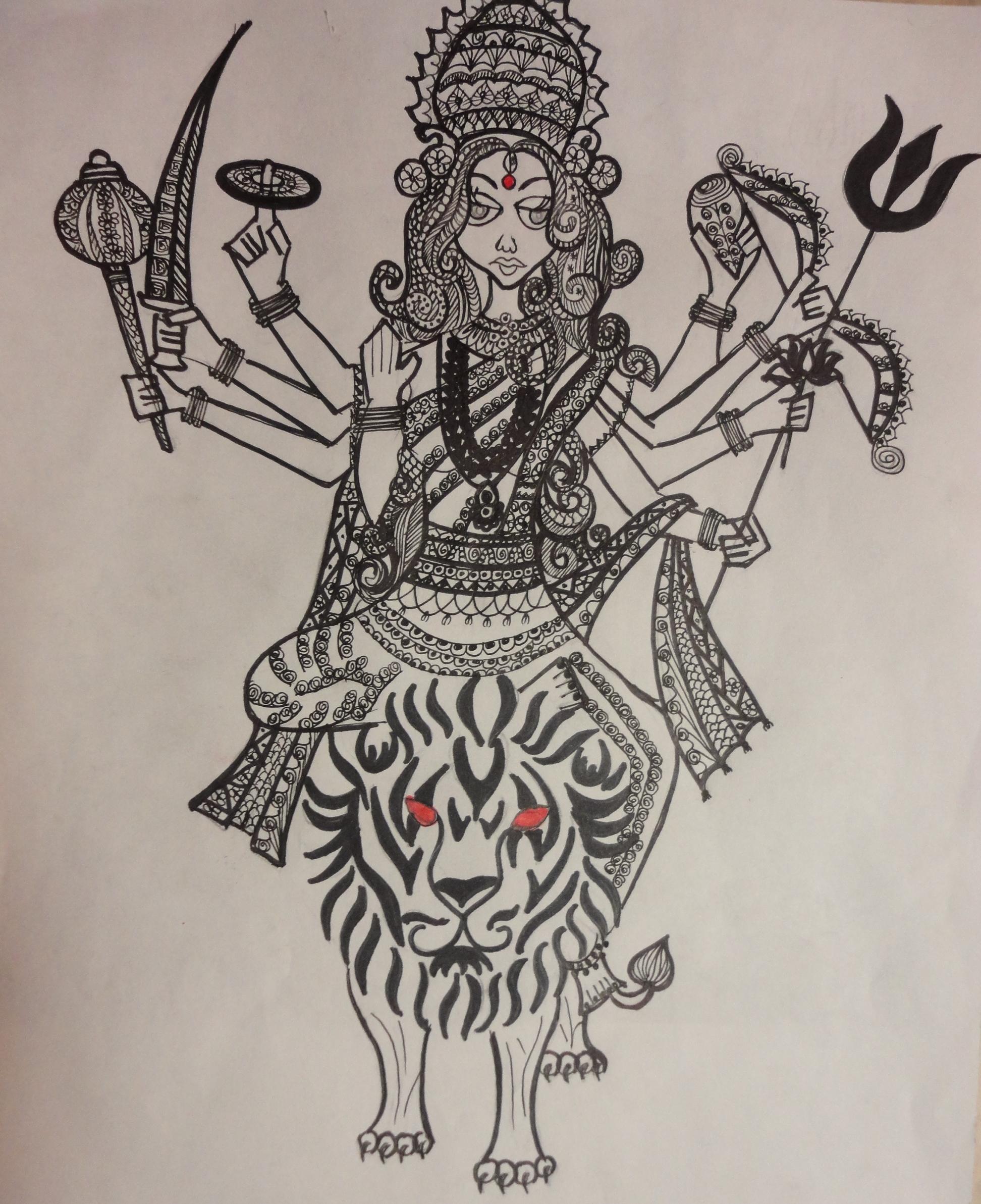Durga | Sketch Studio